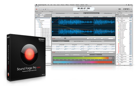 Sound Forge Pro Mac 1.0 Is Here