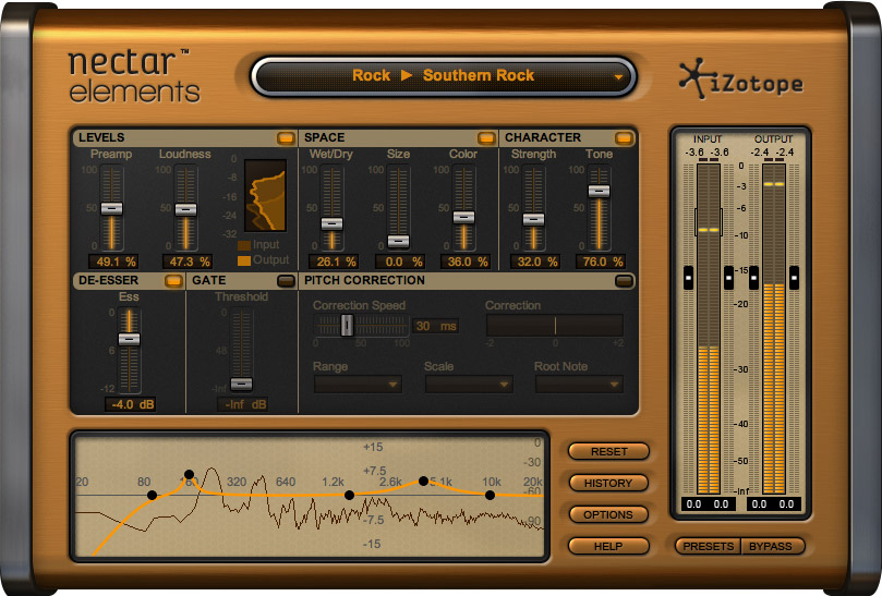 Drizzle iZotope Nectar Elements On Your Vocals