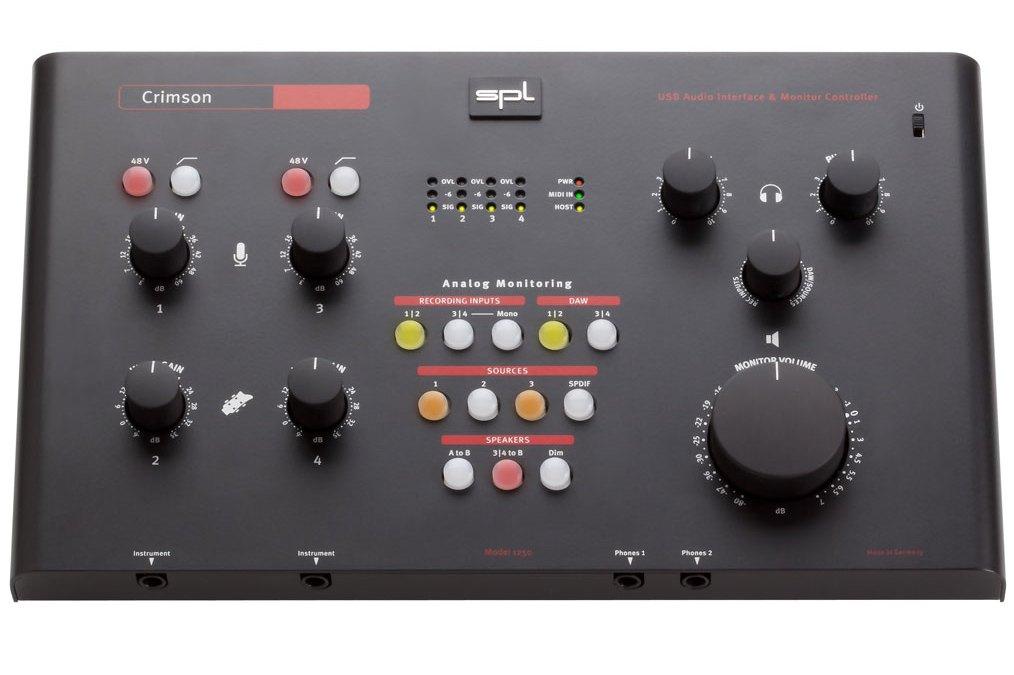 SPL Unveils Crimson and Madison Audio Interfaces