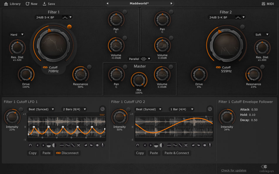Cableguys FilterShaper 3 Adds New Filters and Modulation