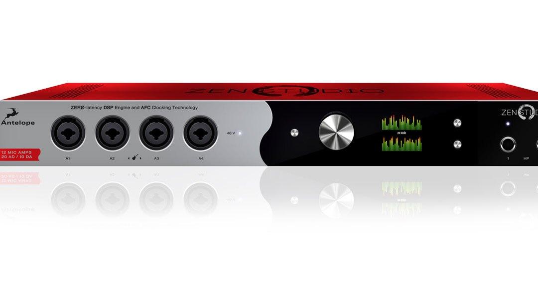 Antelope Audio Intros Zen Studio Mobile Interface