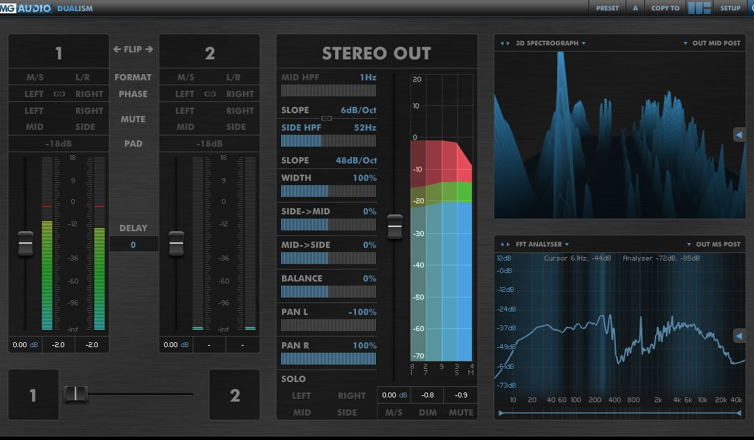DMG Audio Dualism Is Your Complete Stereo Toolkit