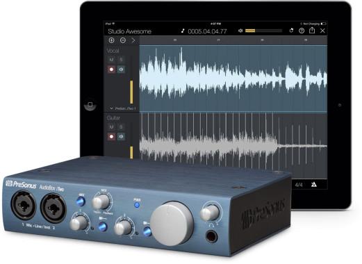 PreSonus AudioBox iTwo and Capture Duo for iPad