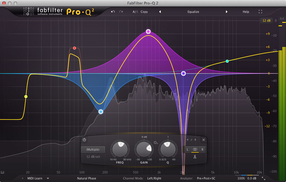 FabFilter Pro-Q 2 Gains Natural Phase and an Even Smarter UI
