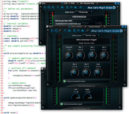 Bluecat Audio Plug'n Script