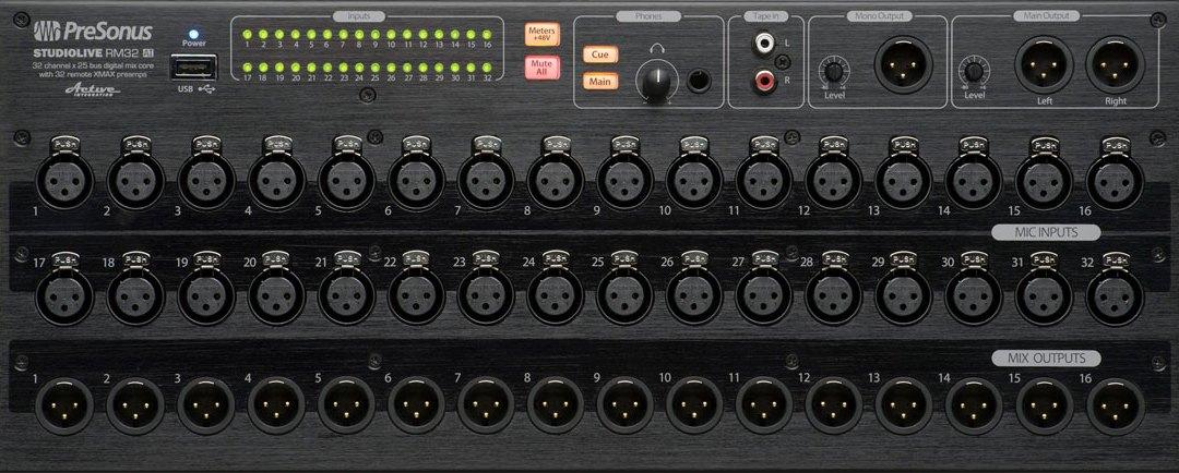 PreSonus Debuts StudioLive RM16AI and RM32AI Mixers