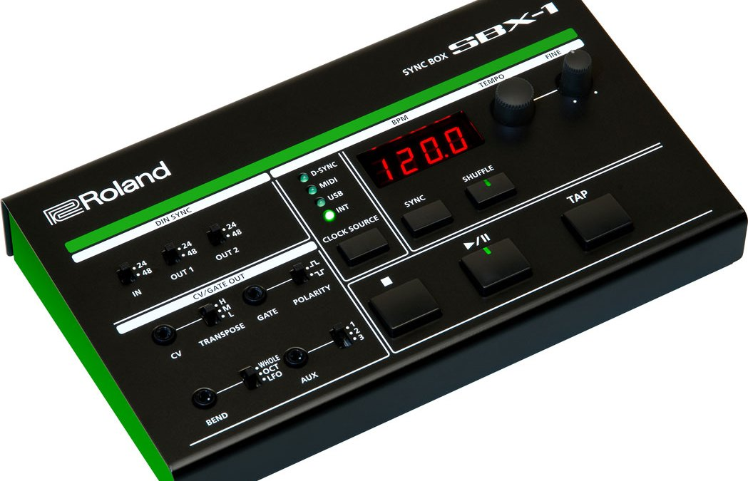 Roland AIRA SBX-1 Syncs All