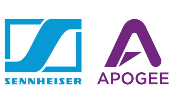 Sennheiser and Apogee 2
