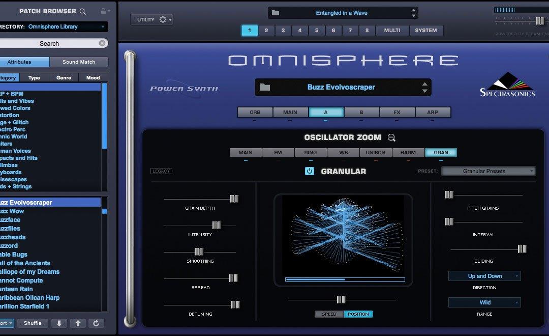 Spectrasonics Previews Omnisphere 2