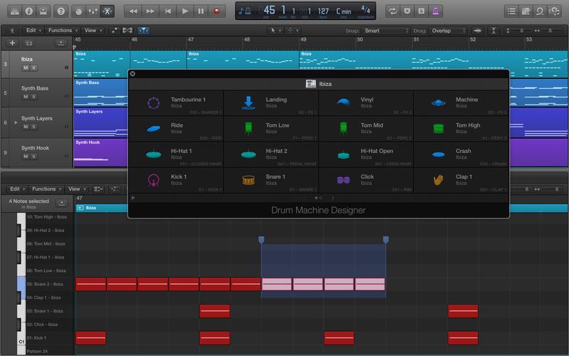 Logic Pro X 10.1 Adds Drum Machine Designer, Plug-In Manager & More