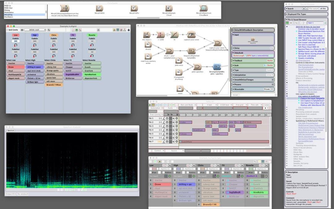 Symbolic Sound Kyma 7 is Designed to Inspire