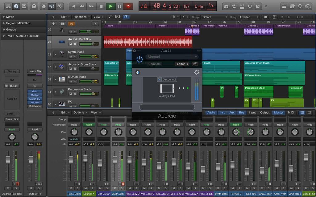 Audreio Streams Wirelessly Between iOS and Mac