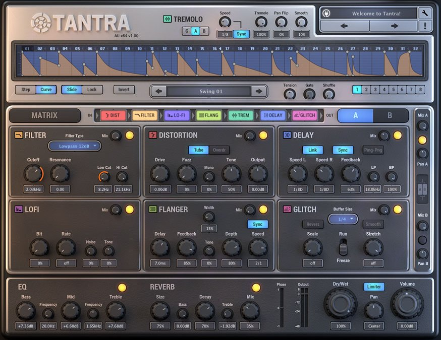 Dmitry Sches Debuts Tantra Multi-Effect Plug-In