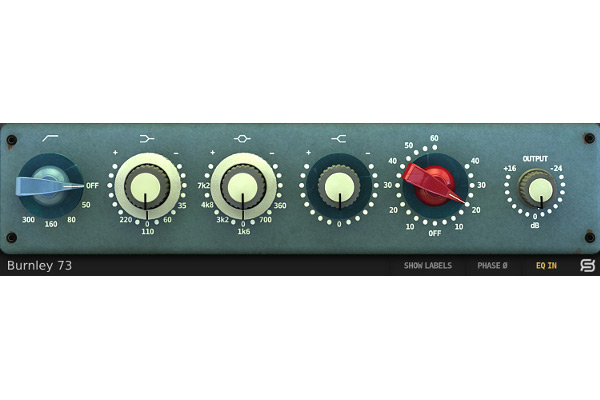 Sonimus Burnley 73 EQ Evokes 1970s Classic