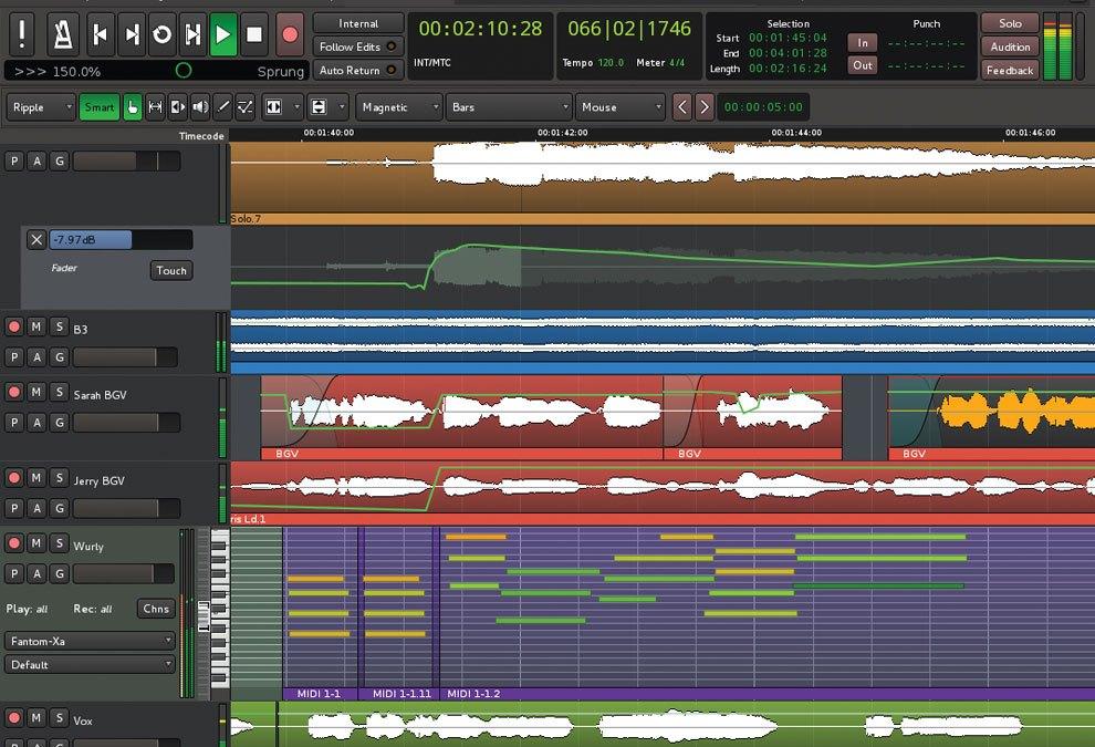 Harrison Revs Mixbus 3