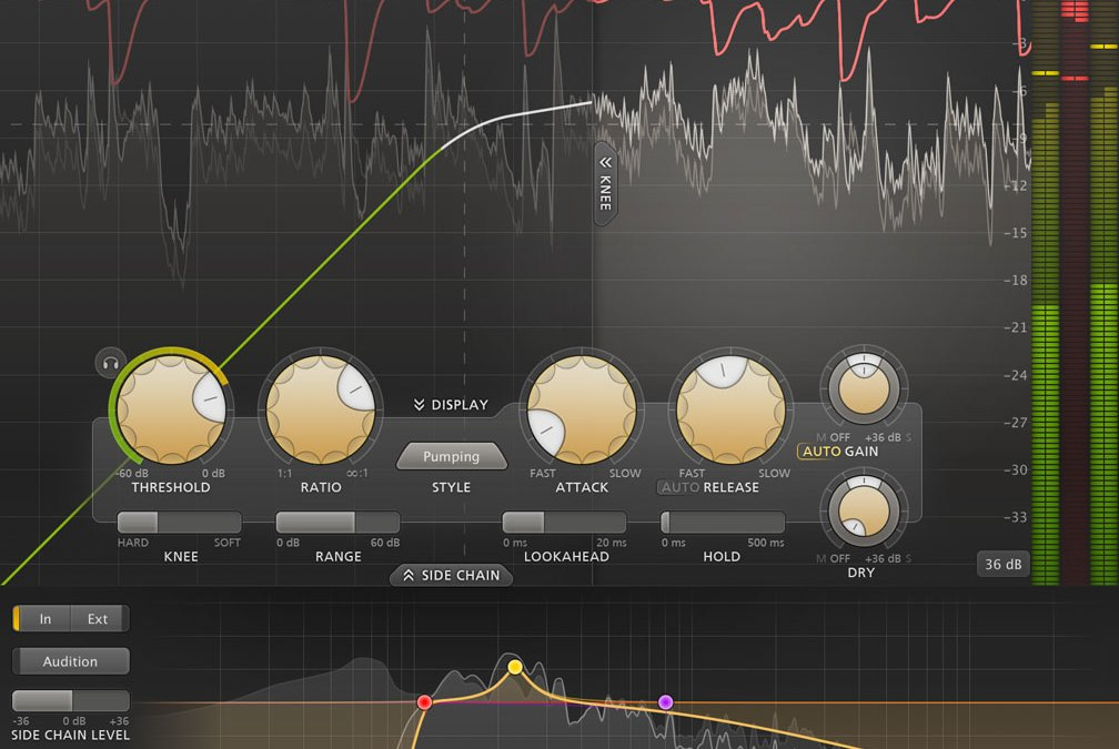 New FabFilter Pro-C 2 compressor goes full screen