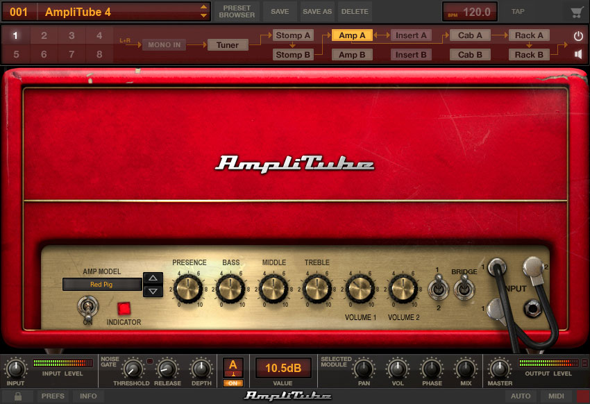 IK Multimedia announces AmpliTube 4
