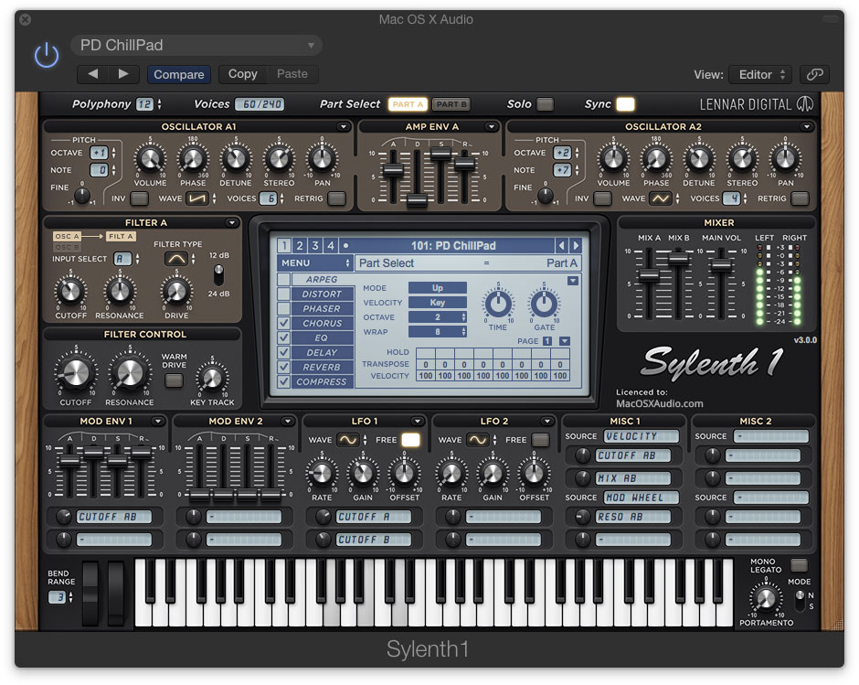LennarDigital Sylenth1 64-bit for Mac is now available