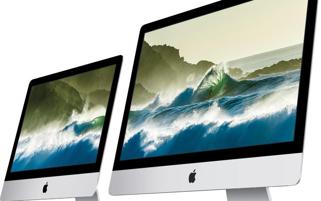 New iMacs get 4K Retina Display and Magic Keyboard