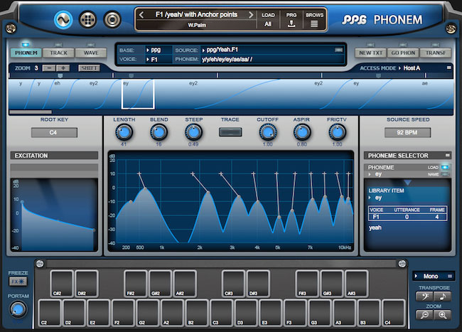 Let Wolfgang Palm's new PPG Phonem plug-in sing to you