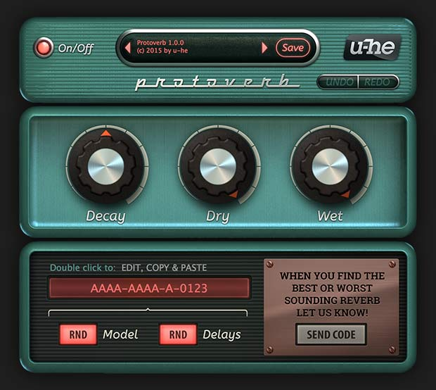 Free u-he Protoverb needs you!