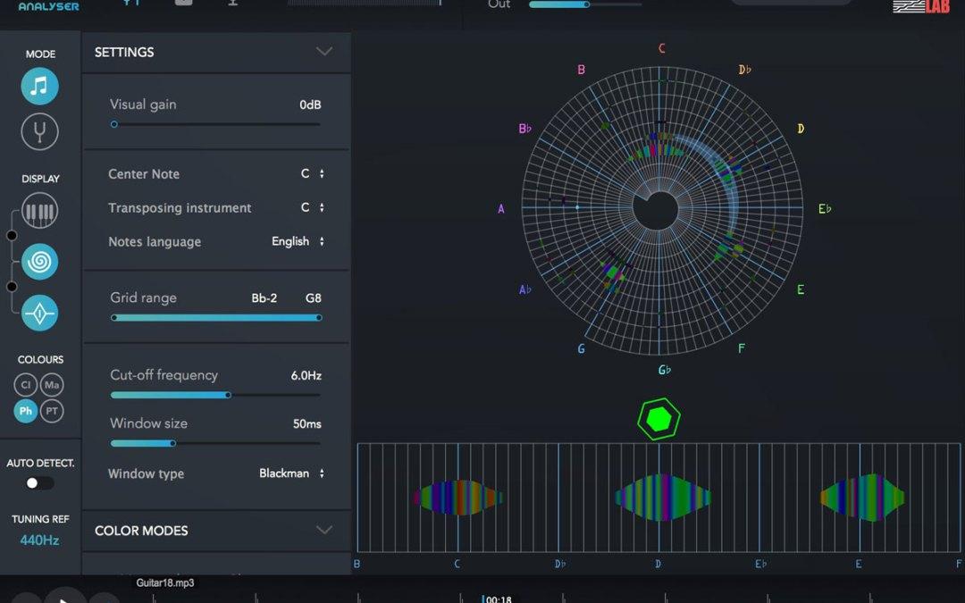 IrcamLab intros The Snail frequency-domain analyzer