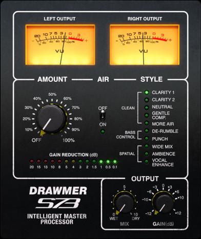 Softube Drawmer S73 Intelligent Mastering Processor