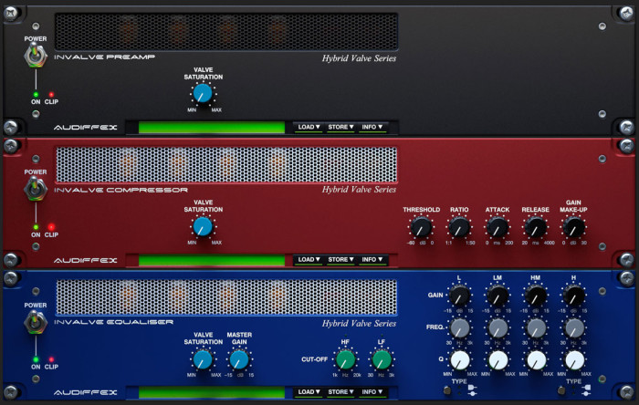 Audified Audiffex inValve Effects