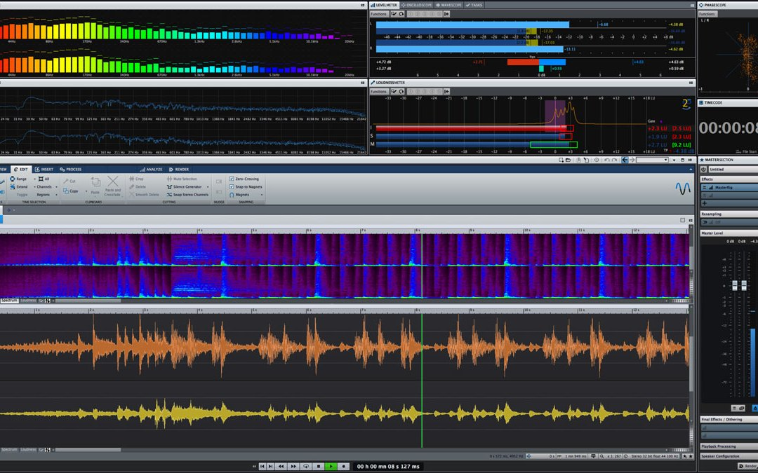 Steinberg ships WaveLab 9 mastering and editing app