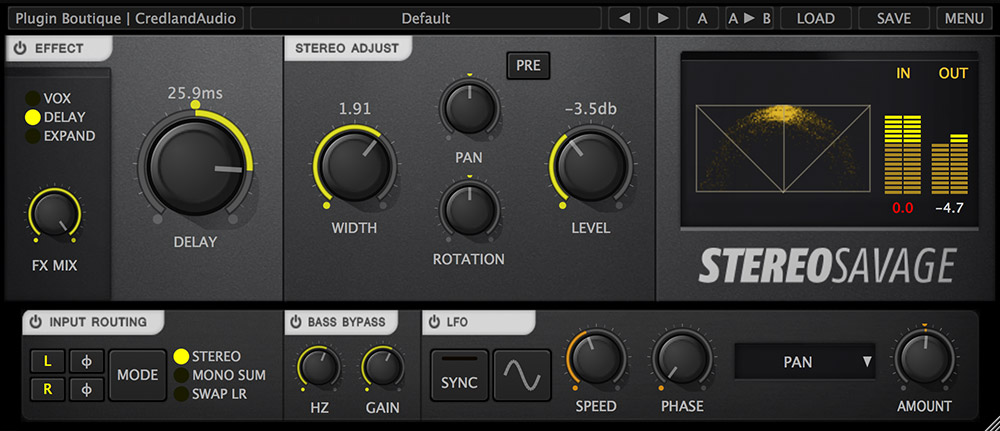 Plugin Boutique presents StereoSavage soundscape toolbox