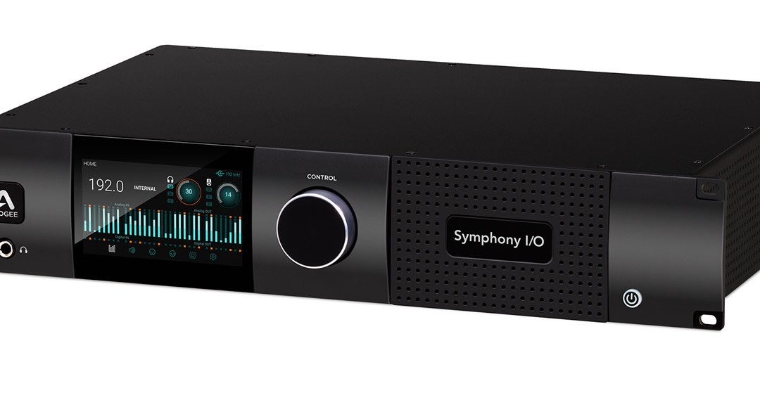 Apogee Symphony I/O Mk II HD interface is now shipping