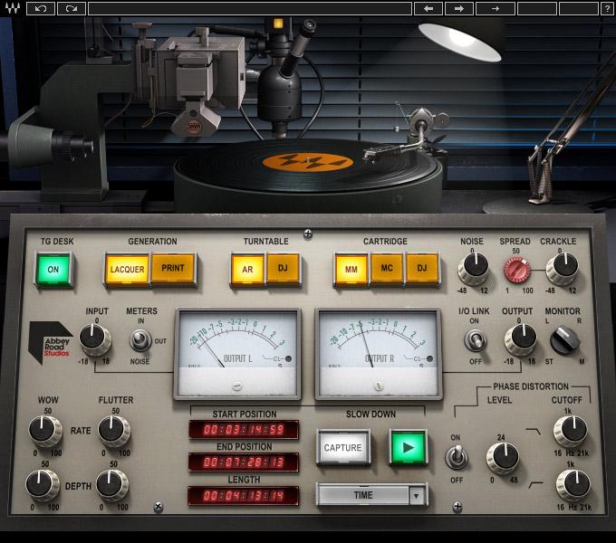 Waves Abbey Road Vinyl emulates record pressing process