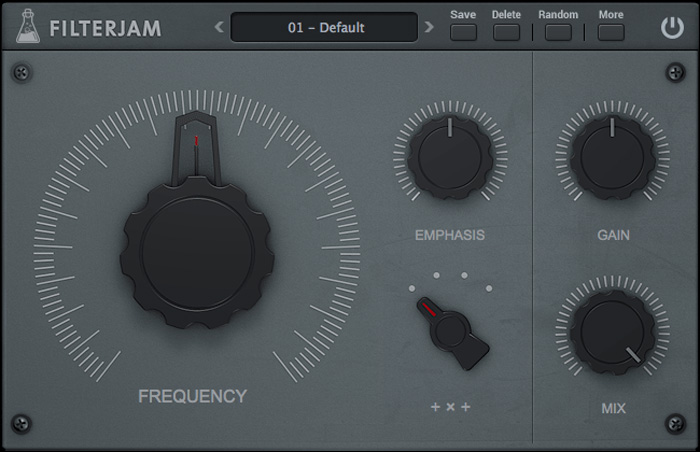 AudioThing gifts free Filterjam multi-band resonant filter plugin