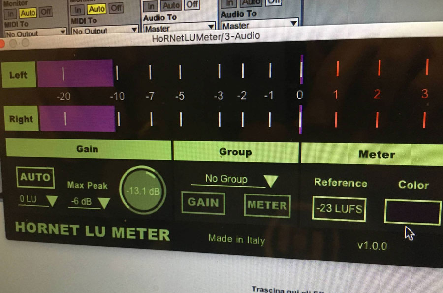 HoRNet releases LU Meter loudness utility with auto gain