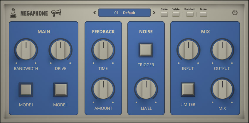 AudioThing proclaims free Megaphone plugin