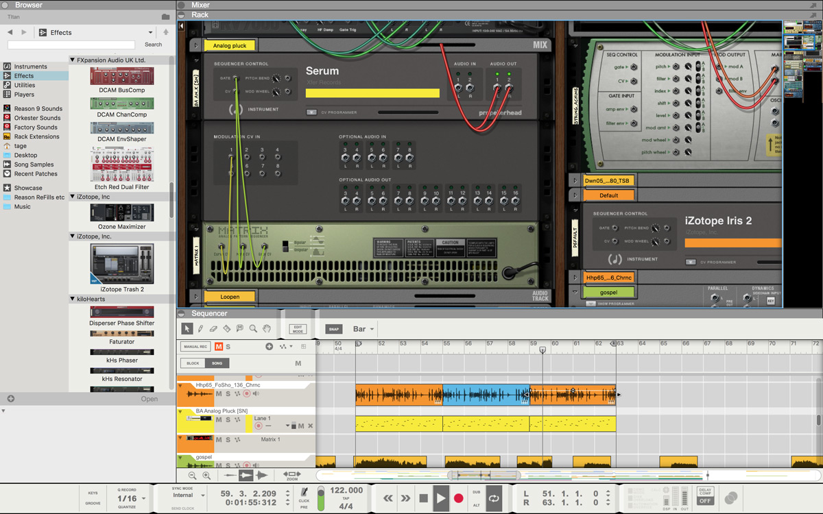 Propellerhead announces VST plugin support in Reason 9.5