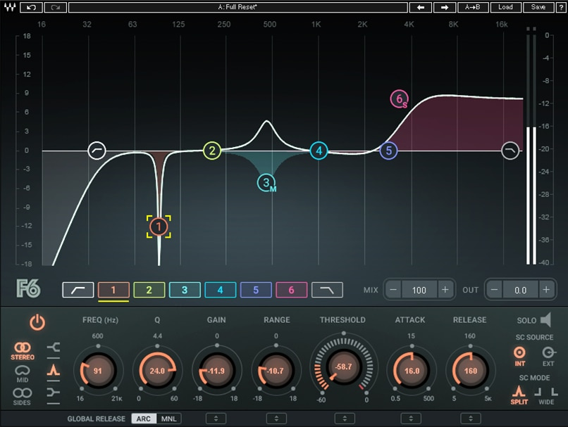 Waves debuts new F6 Floating-Band Dynamic EQ