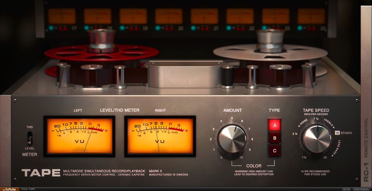 Softube rolls out Tape emulation | macOS Audio