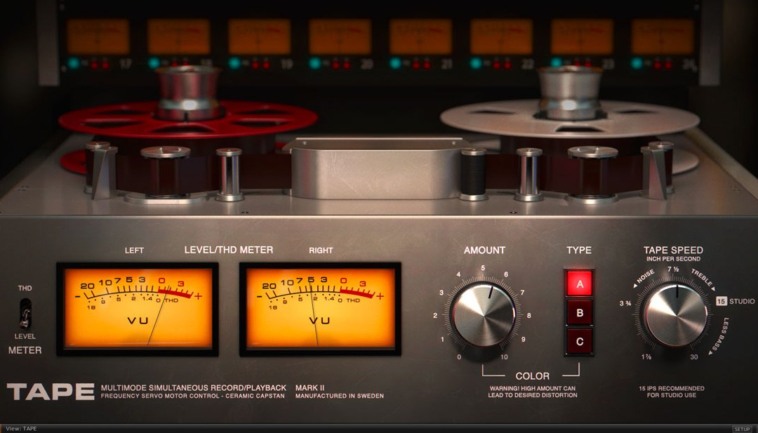 Softube rolls out Tape emulation