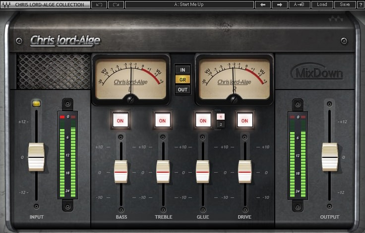 Waves and Chris Lord-Alge intro CLA MixDown plugin