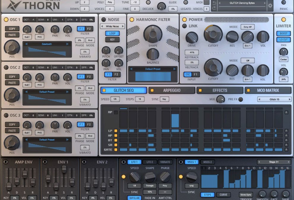 Dmitry Sches debuts Thorn software synthesizer