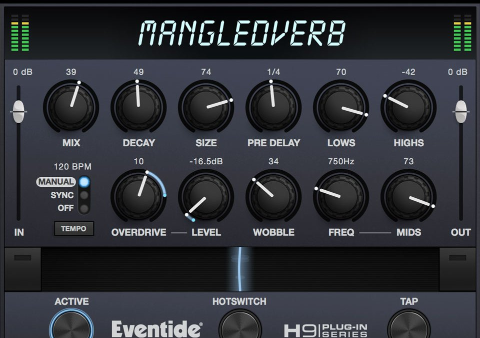 Eventide debuts MangledVerb reverb and distortion plugin
