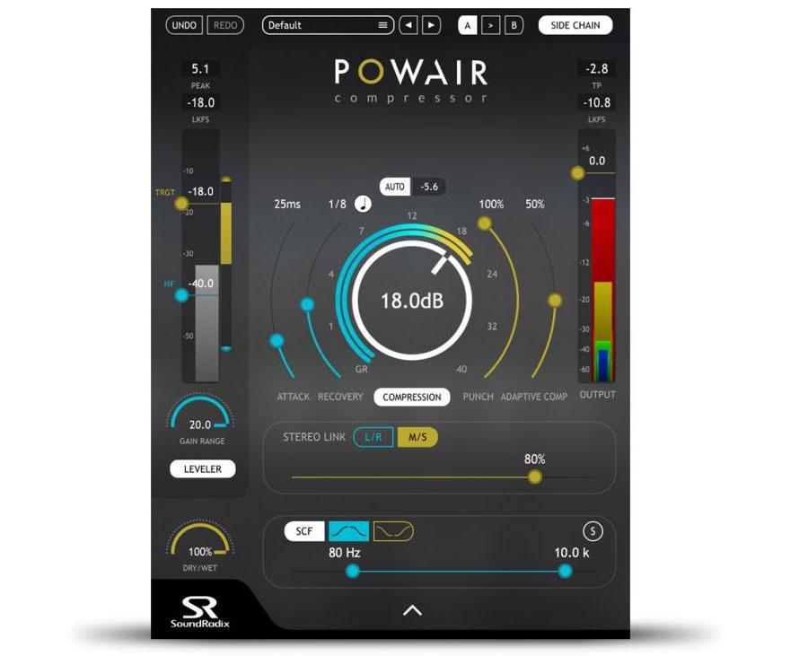 Sound Radix has got the Powair smart compressor