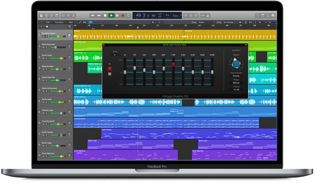 logic pro x update includes smart tempo and new effect plugins macos audio. Black Bedroom Furniture Sets. Home Design Ideas