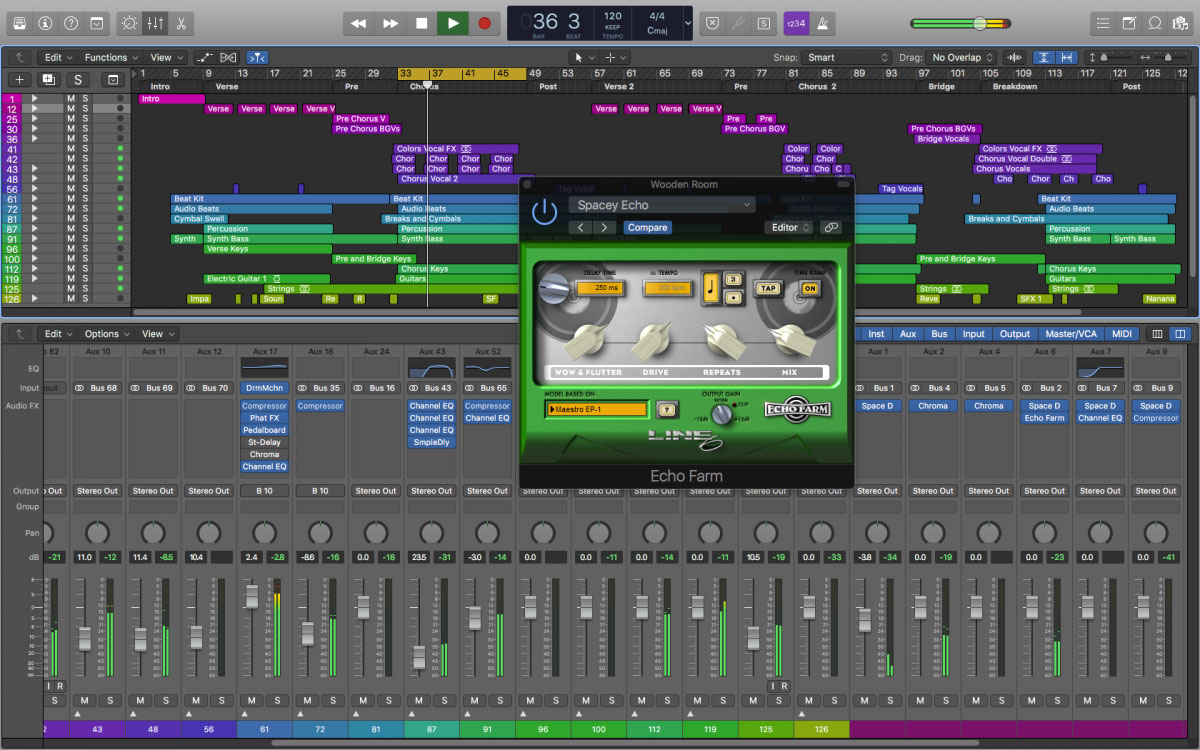 Line 6 brings Echo Farm 3 0 to AU and VST   macOS Audio