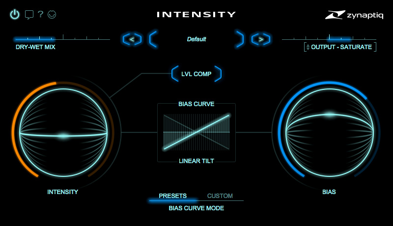 Zynaptiq reveals Intensity detail and loudness processor