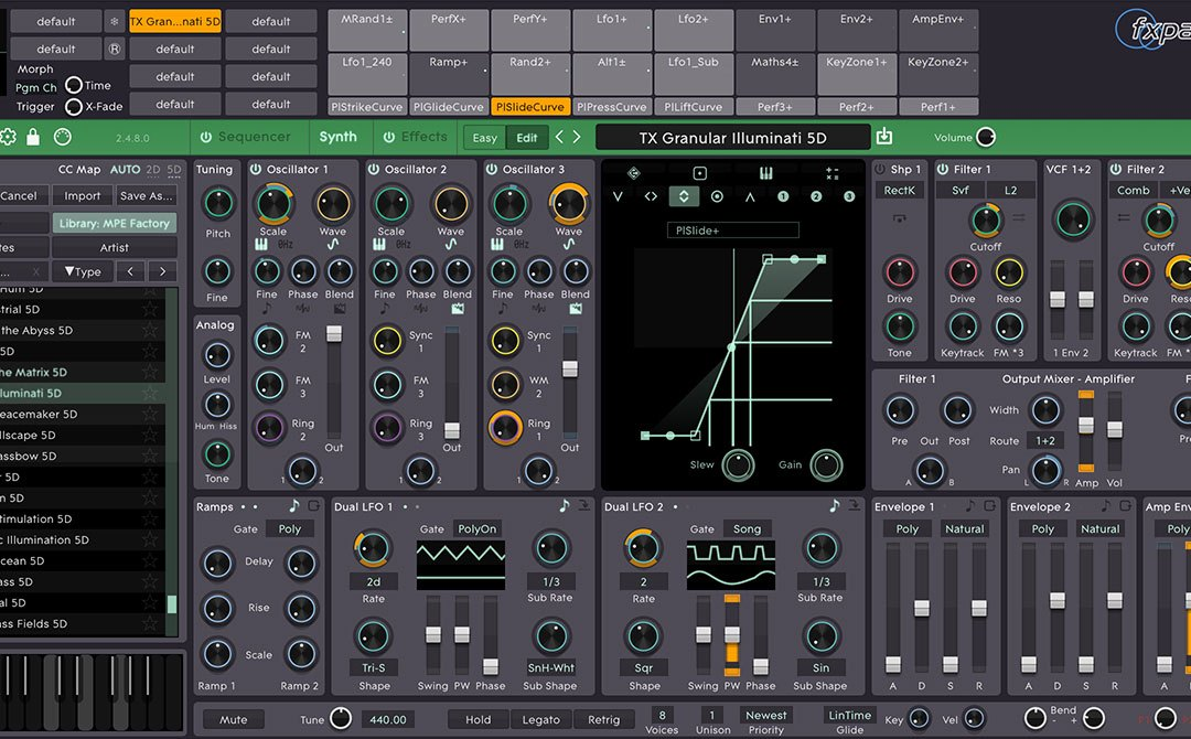 FXpansion revs Cypher2 software synthesizer