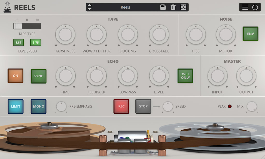 AudioThing threads up Reels tape emulation plugin