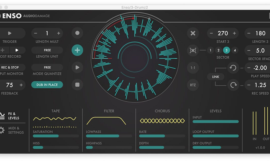 Loop different with the new Audio Damage Enso plugin