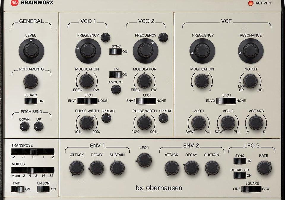 Brainworx brings bx_oberhausen synth back to the future